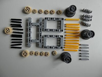 Lego Technic Differential Gears, Axles And Surrounds * NEW * Type X • 16.99£