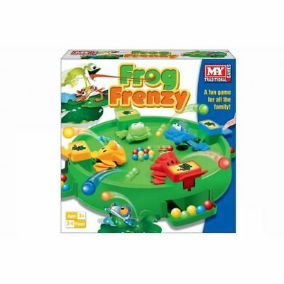 New Frog Frenzy Board Game Children Kids Toy Game Gift Hungry Frogs Hippos  • 8.60£