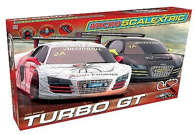 Micro Scalextric 1:64 Scale Turbo GT Race Set • 33.99£