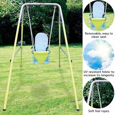 Airwave Outdoor Play Folding Toddler Garden Swing Set • 43.99£