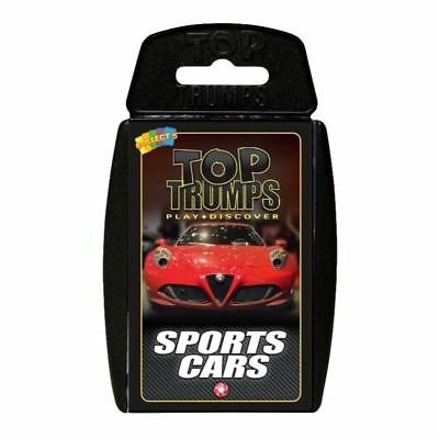 Sports Cars Top Trumps Card Game • 4.99£