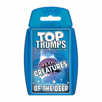 Creatures Of The Deep Top Trumps Card Game • 4.99£