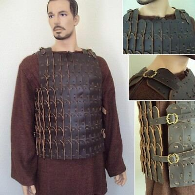 Leather Scale Medieval Armour Perfect For Costume LARP & Re-Enactment Use  • 150£