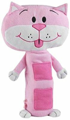 Kitty Kat The Cat Seatbelt Friend Children Pink Plush Toy Kids Fun Car Accessory • 9.99£
