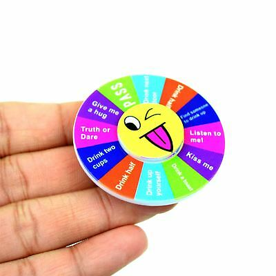 Truth Or Dare Drinking Games Fidget Spinner Hen Girls Do Night Party Boys Stag • 1.79£