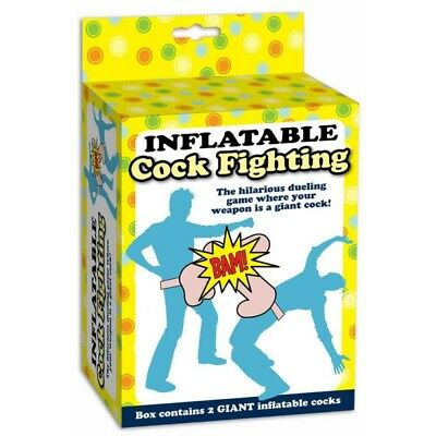 Inflatable Cock Fighting Game - 27468 Hilarious Duelling Freshers Week Student • 7.99£