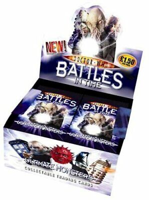 Doctor Who Battles In Time Ultimate Monsters Trading Cards SEALED Box Of 32 • 19.99£