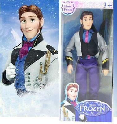 Figures Character HANS Prince 12  Classic Doll Figure Christmas Gift Toy • 11.68£