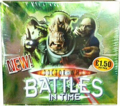 Doctor Who Battles In Time Invader Single Booster Pack Sealed Box Of 32 • 21£