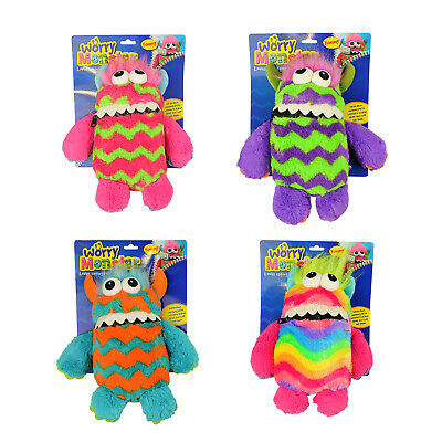 Worry Monster Cuddly Toy Soft Teddy Loves Eating Worries Bad Nightmare Dreams • 7.99£