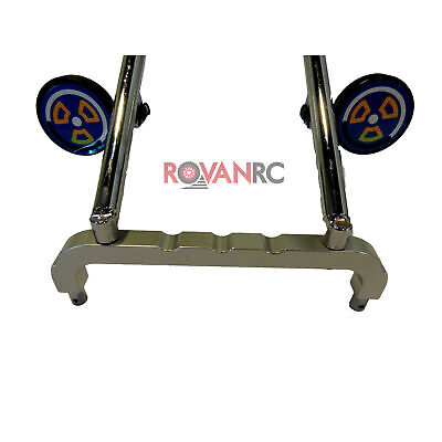 Rovan CNC Aluminum Alloy Front Roll Cage Support Fits HPI Baja 5b 5T SS Buggy • 16.64£