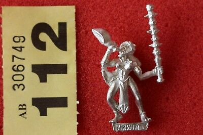 Games Workshop Warhammer Mordheim Amazons Musician Metal Mint Warband OOP GW • 17.99£