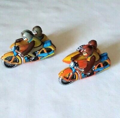 Tinplate Motorcycles X 2     ( Made In Germany )  • 69£
