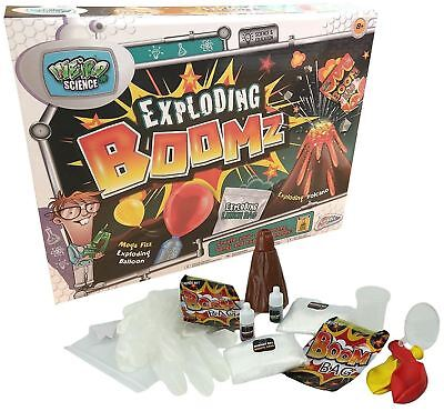 Weird Science Exploding Boomz Science Set Kid Scientist Fun Experiments Kit • 6.59£