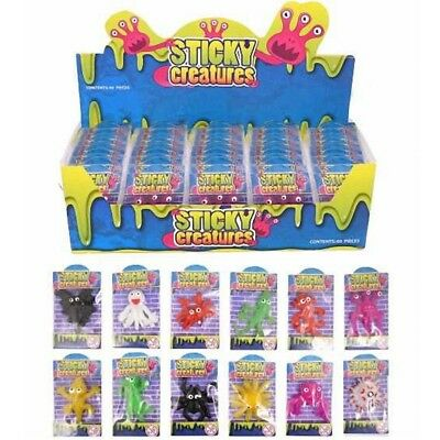 1 X Sticky Creatures Splater Throwing Toy Novelty Birthday Party Bag Filler Gift • 2.99£