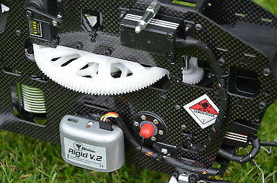 Helicommand Rigid V2 3 Axle Flybarless System + RC Model Helicopter Autopilot • 346.17£