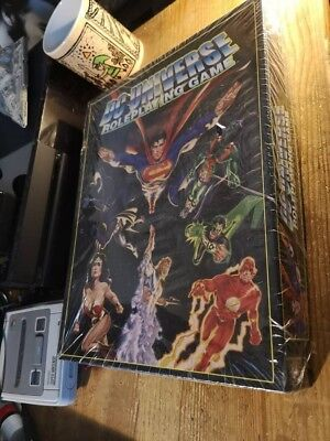 Part Sealed DC UNIVERSE ROLEPLAYING GAME - CORE RULEBOOK. Superman Batman  • 37.99£
