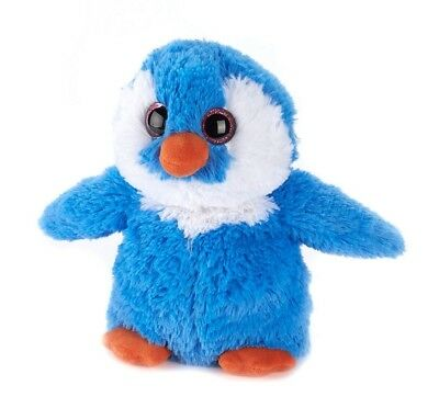 Warmies Cozy Plush Fully Microwavable BLUE PENGUIN Lavender Scented Heatable Toy • 15.96£