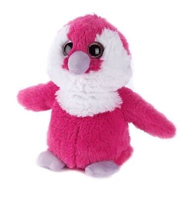 Warmies Cozy Plush Fully Microwavable PINK PENGUIN Lavender Scented Heatable Toy • 17.95£