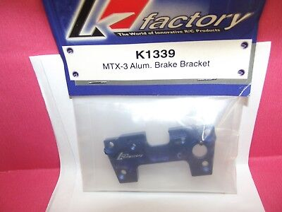 K Factory K1339 Mugen  Mtx 3 Alum Brake Bracket • 12.99£