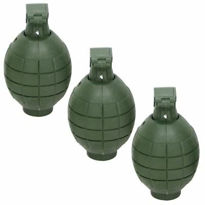 3 X Plastic Toy Hand Grenades With Light & Sound • 6.99£