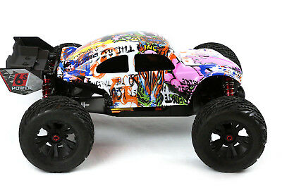 Custom Buggy Body Graffiti Pig For ARRMA 1/8 Kraton 6S BLX Truck Car Cover Shell • 21.45£