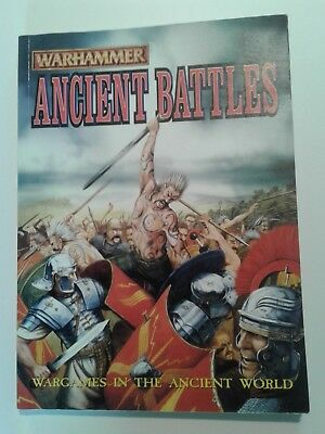 Warhammer Ancient Battles Miniatures Rules. Excellent Condition. • 25£
