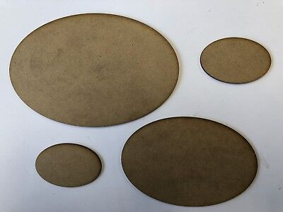 Round Bases For Warhammer 40k, Wargames, Table Top Games .MDF Wood Warmachine • 2.65£