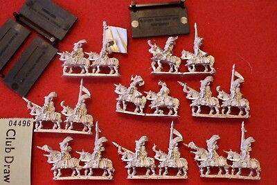 Games Workshop Warmaster Empire Knights Knightly Orders Mounted Command New OOP • 39.99£
