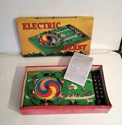 Rare Electric Horse Derby Game By Kays Of London • 59£