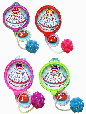 Light Up Hula Skip Ball - Sv3127 Outdoor Fun Skipping Rope Ankle Jump Exercise  • 4.25£
