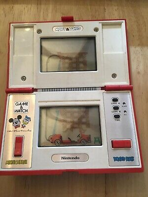 NINTENDO GAME WATCH CGL MICKEY AND Donald Multiscreen 1982 • 65£