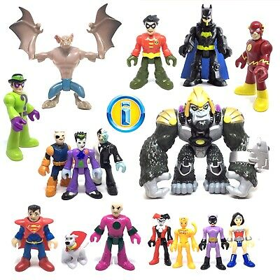 IMAGINEXT DC Super Friends Heroes & Villains Used Figures. Loose *Please Select* • 16.99£