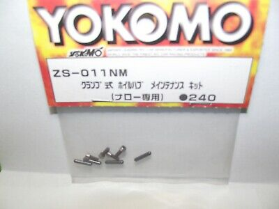 Yokomo Zs-011nm Rebuild Kit For Clamp Hubs • 6.99£