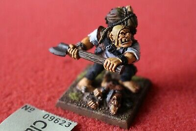 Games Workshop Mordheim Ogre Bodyguard Ogres Well Painted Skaven Casualty Base • 49.99£