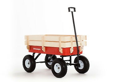Pull Along Wagon Retrowagen Improved Design And Features Radio Flyer Cart Dilly • 68.50£