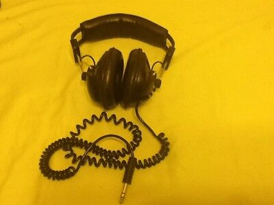 Alpha Vintage Electronic Stereo Headphone SDH-7DV . Made In Japan  • 12£