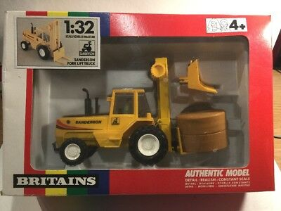 1980's Vintage Britains 9513 Fork Lift Truck Very Near Mint In Original Box • 52£