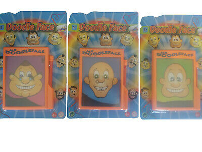 Magic Magnetic Doodle Face -sv13430 Draw Board Hairy Iron Fillings Toy Style Toy • 3.25£