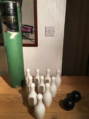 Townsend Croquet Limited Garden Skittles Made In England Very Rare • 189.99£