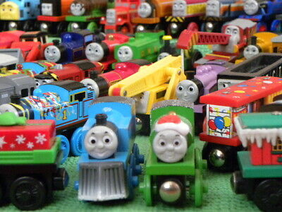 Lots Individual TRAINS For THOMAS & FRIENDS WOODEN RAILWAY + BRIO Engine Toy Set • 11.95£
