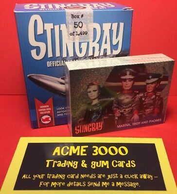 Unstoppable Gerry Anderson Collection STINGRAY Set + Foils - NO BOX Or INSERTS • 2£