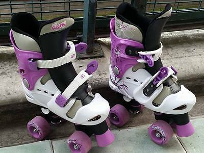 Girls Skates - Adjustable Size 1-3 • 22£