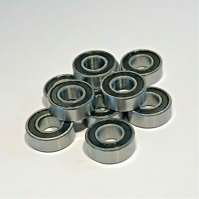 10pcs 5x11x4mm Ball Bearings Rubber Sealed RC Car  - Fits Traxxas 5116  • 4.29£