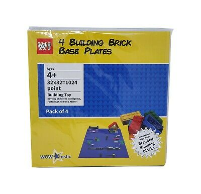 Brick Base Plate Large 32x32 Studs 25cm Compatible Construction Block - 4 PACK • 10.99£