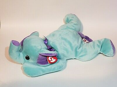 Beanie Baby Pillow Pals Collection Squirt The Elephant *NWT* *MINT* 1998 • 38.68£
