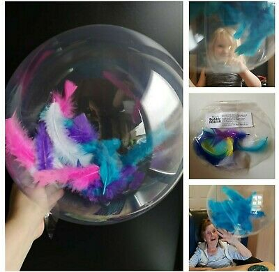 Sensory Toys FEATHER Bubble Balloon Ball SEN Educational Fidget Autism ADHD Med • 2.99£