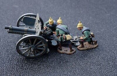 King And Country FW57 77mm Artillery Set 1917 Ww1 Soldier • 199.99£