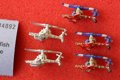 Games Workshop Man O' War High Dwarf Gyrocopters Squadron X5 Gyrocopter Metal • 34.99£