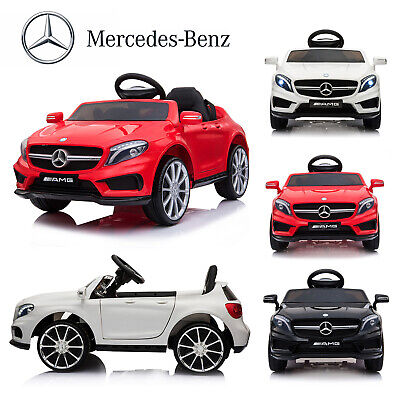 12V Kids Ride On Car Electric Licensed MERCEDES BENZ Remote Control Twin Motors • 110.99£